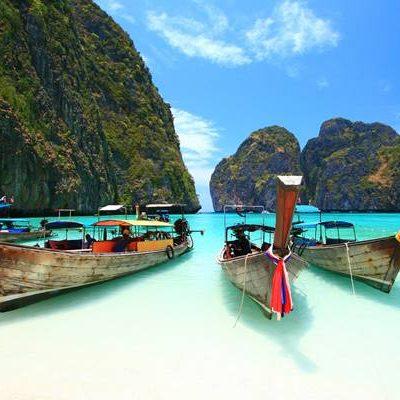 หมู่เกาะพีพี กับหาดที่สวยที่สุดในไทย